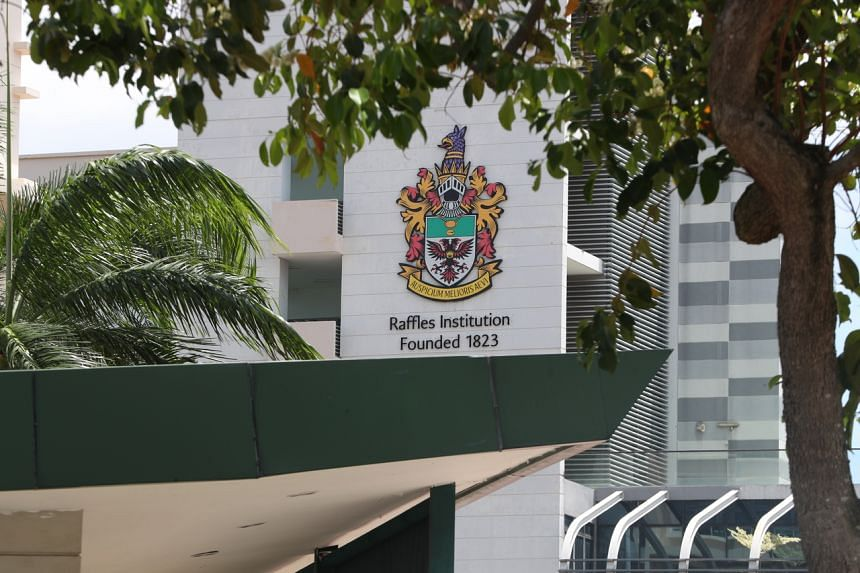 Although Raffles Institution had already been cleaning its compound every day, the school suspended classes on Friday to carry out deep cleaning and disinfection as a precaution.