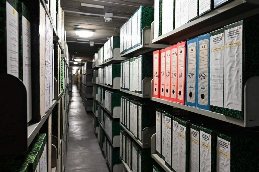 A view of The Vatican Apostolic Secret Archive, at the Vatican on Feb 27, 2020.
