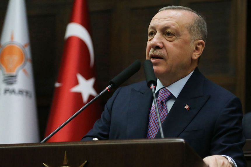 Turkey's president, Recep Tayyip Erdogan, vowed retaliation and demanded that Syrian troops withdraw beyond a previously agreed upon de-escalation boundary.