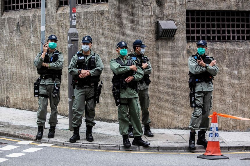 About HK$500 million (S$89.27 million) will be used to buy police protective gear and special equipment.