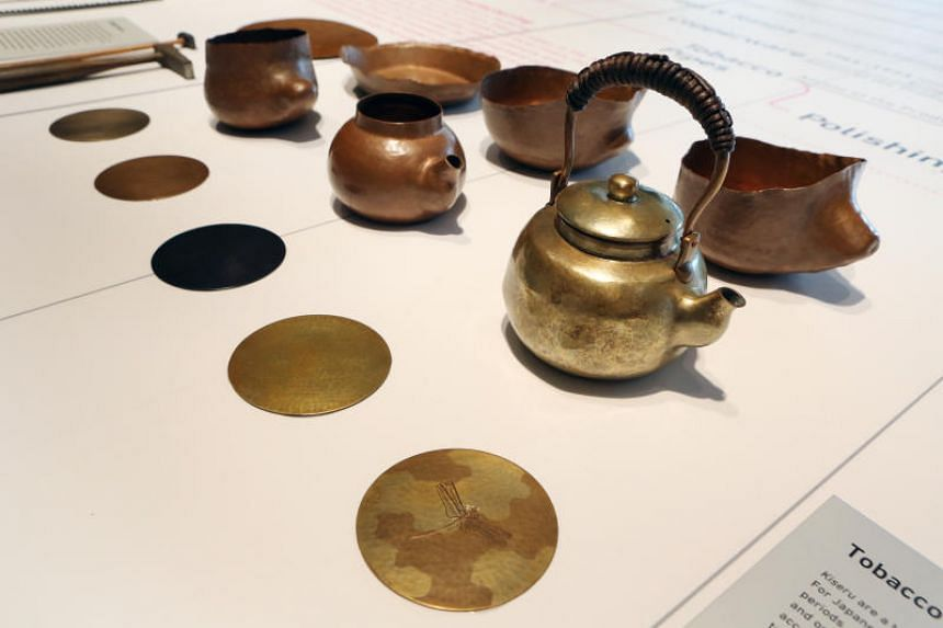 The workshop and the exhibition celebrated the production of items as mundane as gardening shears and nails.