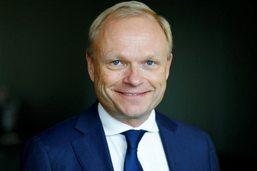 Mr Pekka Lundmark (above) will take over from Suri at the start of Sept 2020.