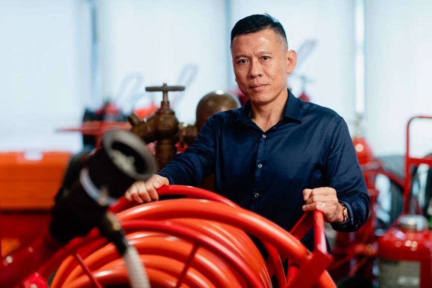 Lingjack's Kenneth Lim believes new technologies are needed to spur fire safety innovation.