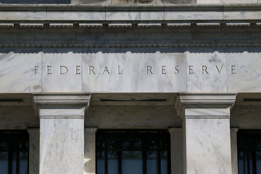 The Federal Reserve Board building in Washington.