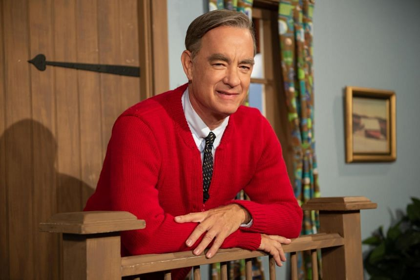 Icon Plays Icon Tom Hanks Is Children S Tv Star Fred Rogers In A Beautiful Day In The Neighborhood Entertainment News Top Stories The Straits Times