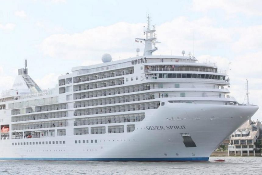 The Silver Spirit is a luxury liner operated by Monaco-based Silversea Cruises, which is owned by Royal Caribbean Cruises.