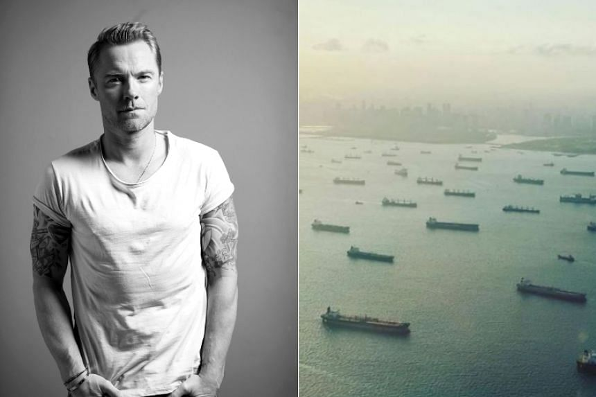 Ronan Keating's apology on his Instagram account came after the Maritime and Port Authority of Singapore debunked his claims.