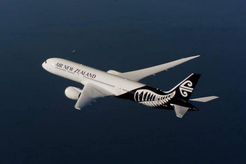 The female patient travelled from Singapore to Auckland on flight NZ283 on Feb 25, 2020.