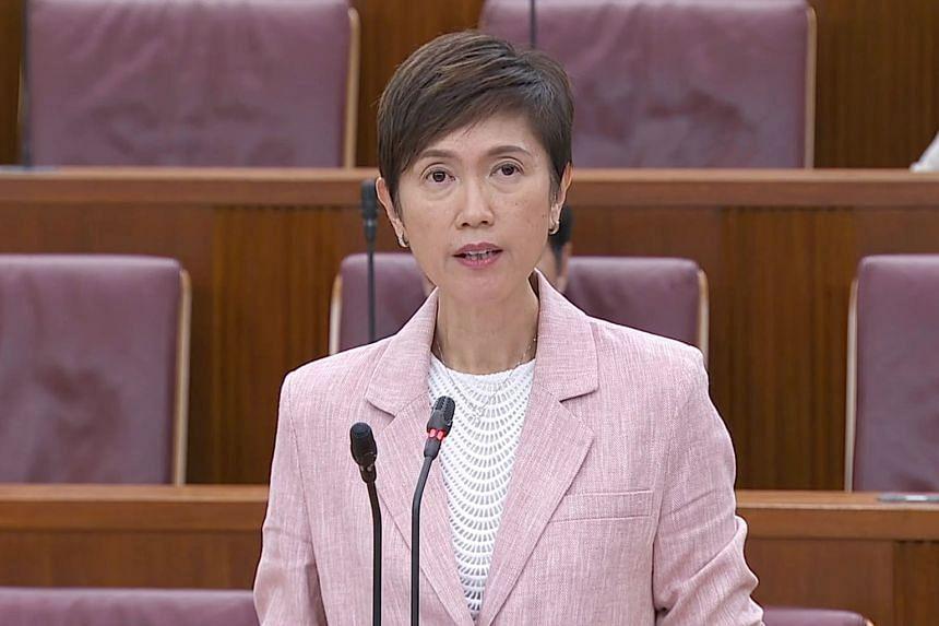 Manpower Minister Josephine Teo.