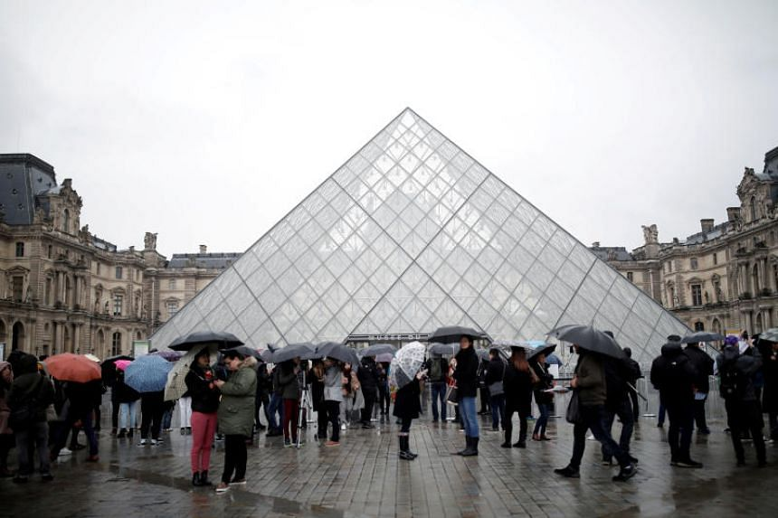 Lonely Mona: Once again, virus fears close the Louvre