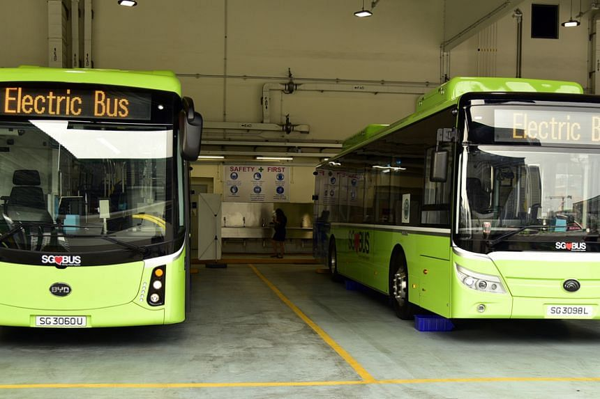 Singapore has deployed 50 diesel-electric buses on the roads since March last year, and has also bought 60 fully-electric buses and will be deploying them progressively this year.