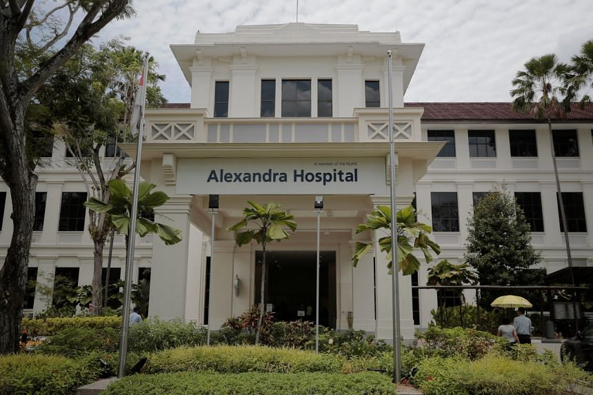 A view of Alexandra Hospital seen on March 4, 2020.