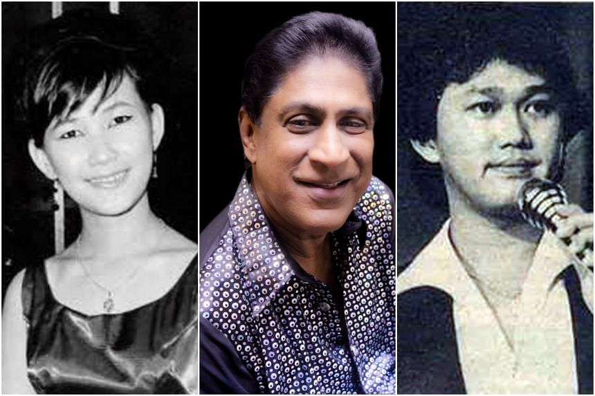 Veronica Young, a teenage singer in the 1960s; Joe Chandran, frontman of 1970s pop rock band The X-periment; and Talentime singer Peter Chua from the 1980s, will perform in a two hour show.