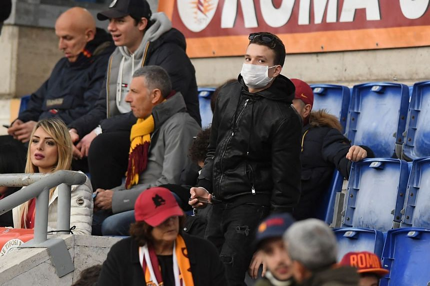 Serie A games will be played behind closed doors until April 3
