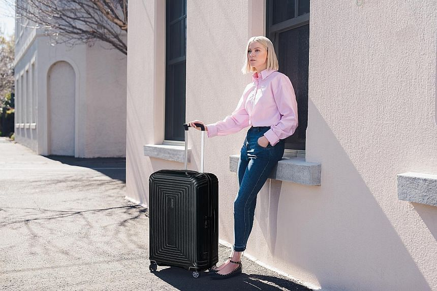 Trade in your preloved luggage at Samsonite.