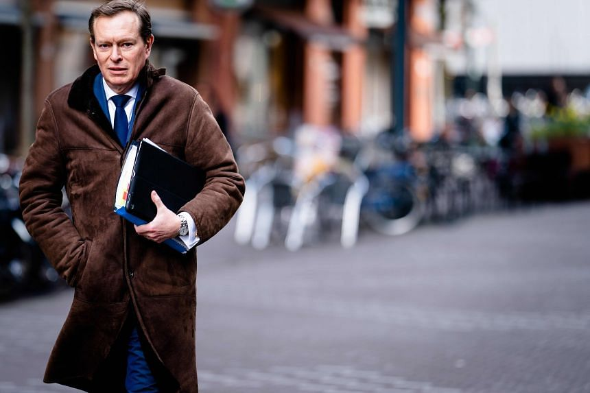 """Dutch Minister for Medical Care Bruno Bruins told the crisis meeting: """"In times of scarcity, it is even more important to show solidarity, especially within the EU."""