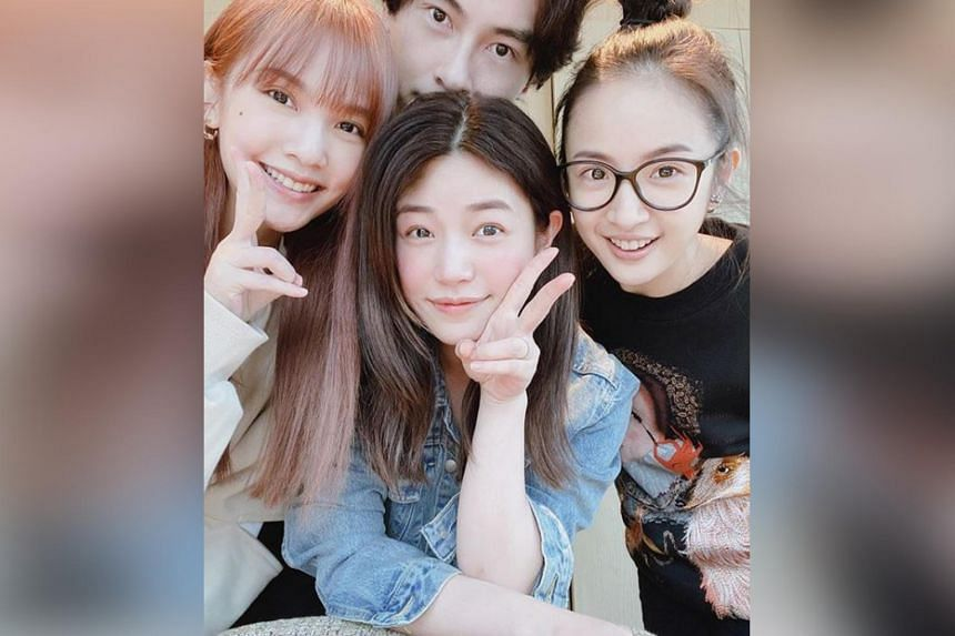 Rare Reunion Actor Joseph Cheng Meets Up With Actresses Of Taiwanese Idol Dramas Entertainment News Top Stories The Straits Times