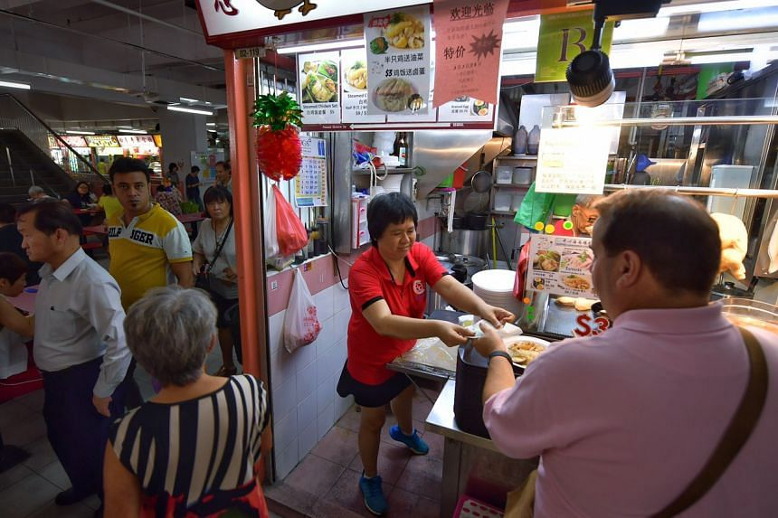 Madam Connie Chan, who runs a chicken rice stall, said businesses in Chinatown have been badly affected as the area was highly dependent on tourists.