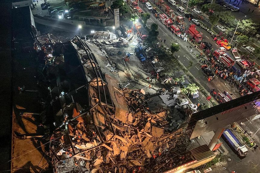 Seventy trapped in collapsed Chinese quarantine hotel