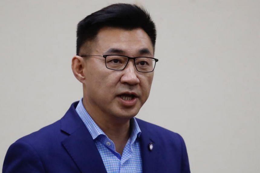 At 48 years of age, Mr Chiang Chi-chen is the youngest permanent leader of the KMT in almost 100 years.