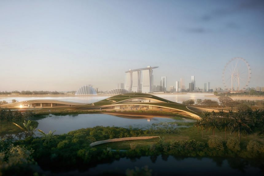 The memorial's winning design by Japanese firm Kengo Kuma & Associates and local firm K2LD Architects was announced on March 9, 2020.
