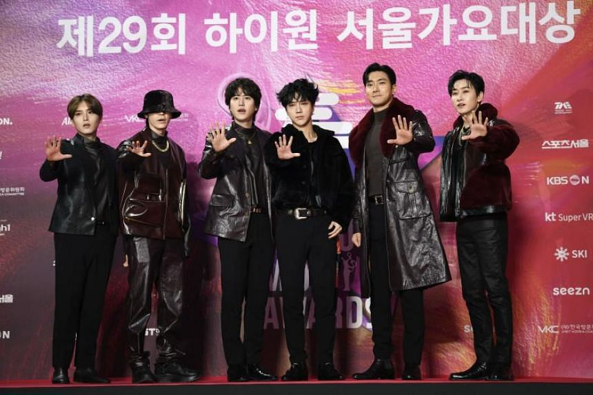 "South Korean boy band Super Junior called off its tours scheduled to take place on March 25 and 26 in Japan, citing the Japanese government's measures to ""curb immigration""."