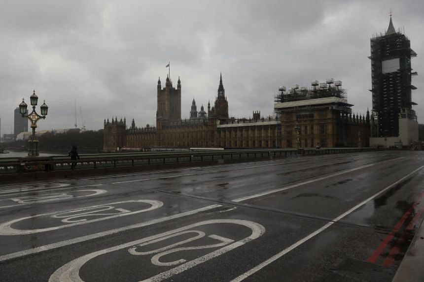 Man brandishing knives shot dead by police in Westminster