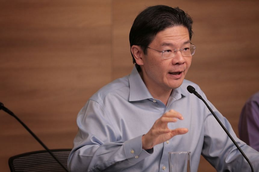 Minister Lawrence Wong noted that as the virus spreads worldwide, Singapore's approach must shift.