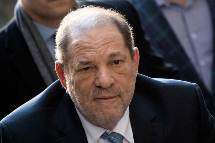In a photo taken on Feb 24, 2020, former Hollywood movie producer Harvey Weinstein arrives at the Manhattan Criminal Court, in New York City.