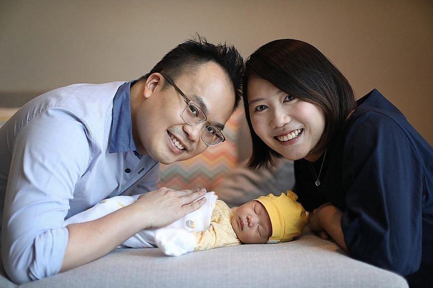 When his daughter Alyssa was born on Feb 12, Mr Richard Yeong, Citi's Asia-Pacific audit head for global functions technology, used three weeks of paternity leave to support his wife Sabrina. He plans to take the remaining week when needed.