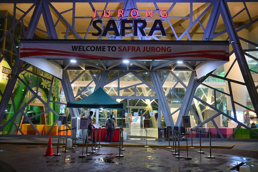 Three of the new cases are linked to a private dinner function held at Joy Garden restaurant at Safra Jurong on Feb 15, which is Singapore's largest cluster with 43 cases.