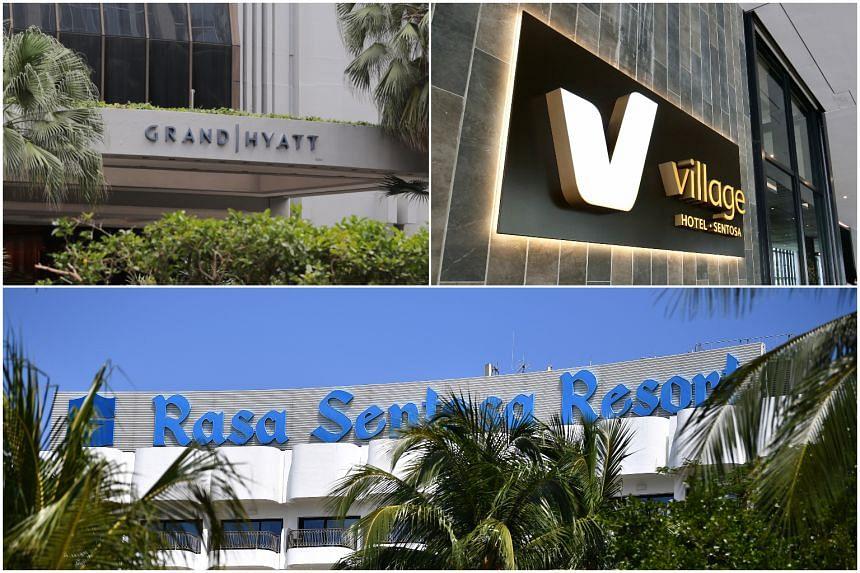 The Grand Hyatt Singapore, Shangri-La's Rasa Sentosa Resort & Spa and Village Hotel Sentosa were the first three hotels to obtain certification.