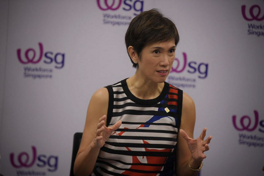 The support measures by WSG are focused on the reskilling and redeploying of workers, said Manpower Minister Josephine Teo.