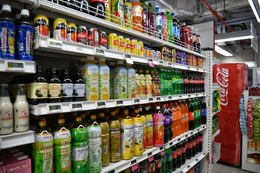 Companies like Pokka and Coca-Cola say about 60 per cent of their drinks are already within healthier choice standards.