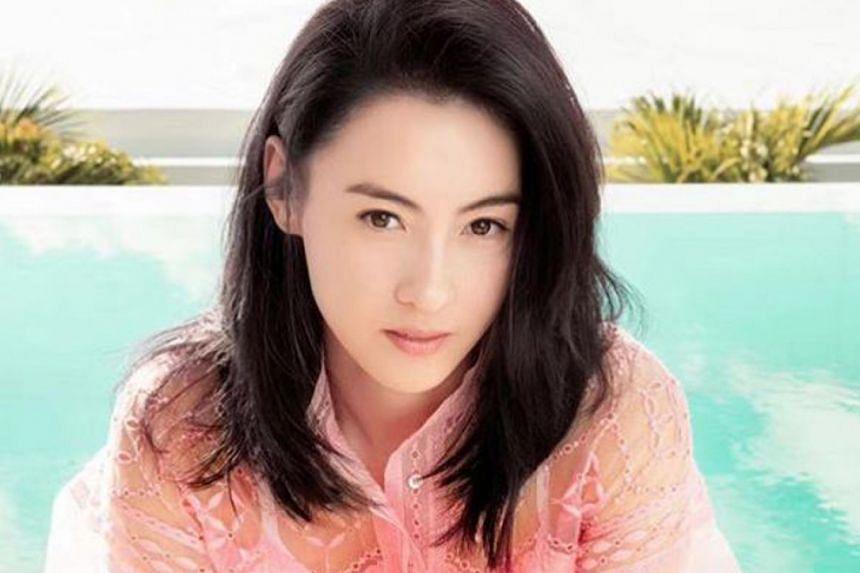 Hong Kong actress Cecilia Cheung's