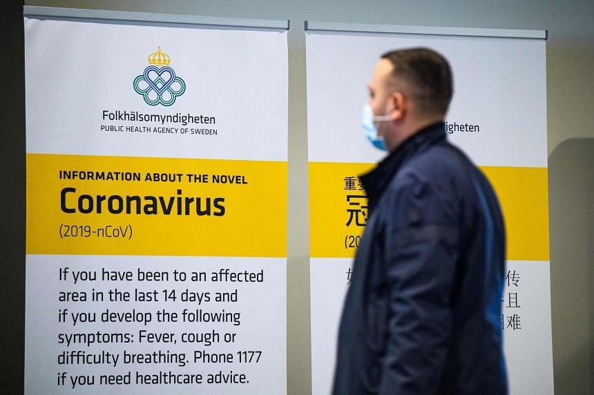 Sweden reports first death in coronavirus outbreak, Europe News ...
