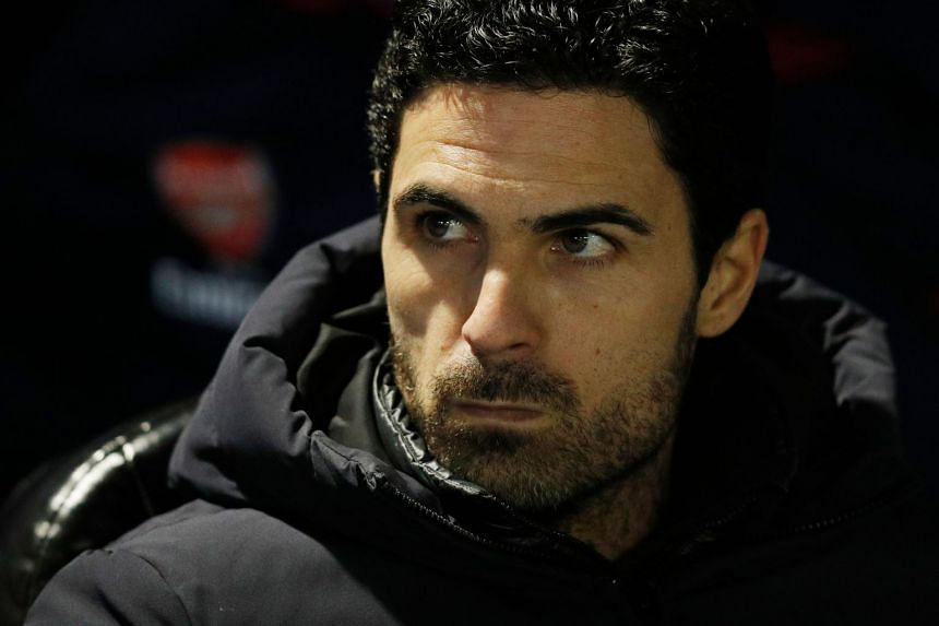 Arsenal manager Mikel Arteta (above) has tested positive for the coronavirus.