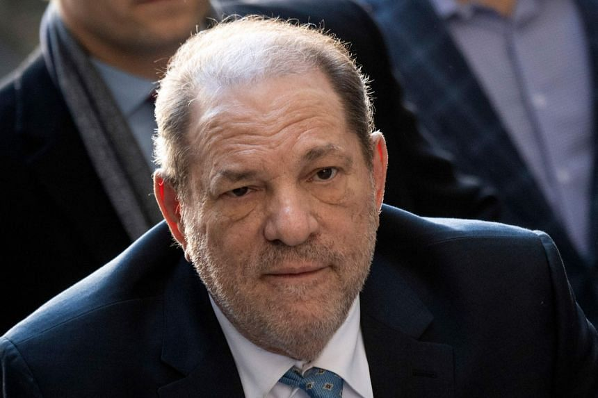 Weinstein arriving at the Manhattan Criminal Court in New York City in a file photo.