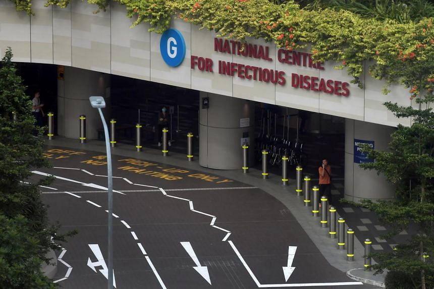 Both men are warded in isolation rooms at the National Centre for Infectious Diseases.