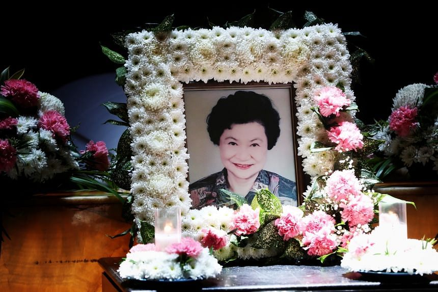 Madam Kwei died at the age of 93, leaving behind three sons, five grandchildren and six great-grandchildren.
