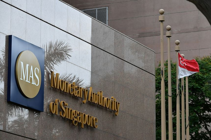 The Monetary Authority of Singapore said that it has left a higher level of liquidity in the banking system through its money market operations.