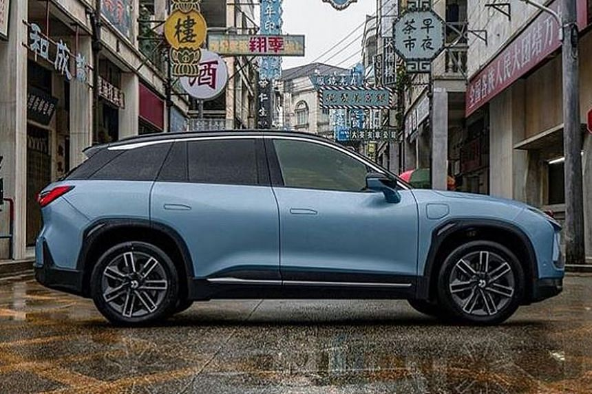 NIO ES6 electric SUV.