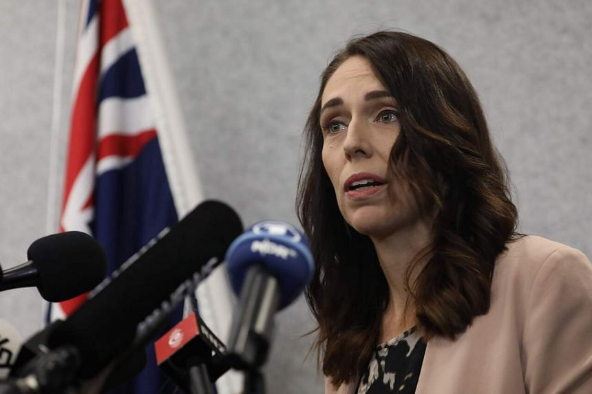 New Zealand Prime Minister Jacinda Ardern at a press conference in Christchurch, on March 13, 2020.