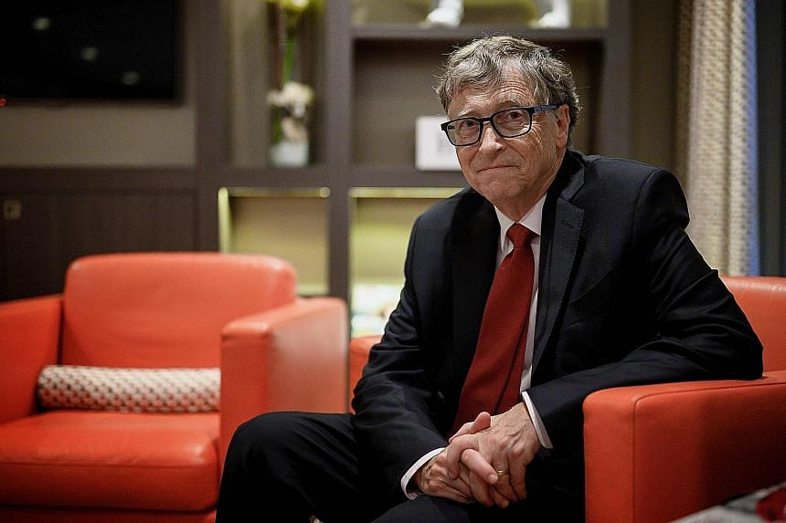 For decades, Mr Bill Gates was the face of Microsoft. The company said that he would remain a technical adviser. PHOTO: AGENCE FRANCE-PRESSE
