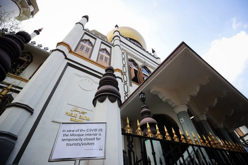 Masjid Sultan is one of the mosques visited by the confirmed cases at various periods of time from March 3 to 11.