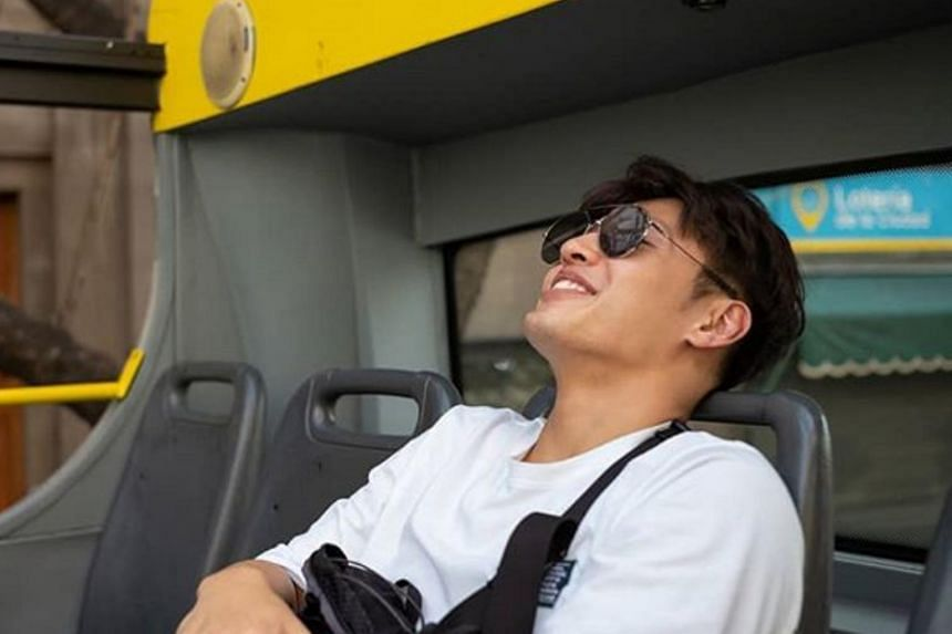 Kang Ha-neul in JTBC's travelogue Traveller 2.