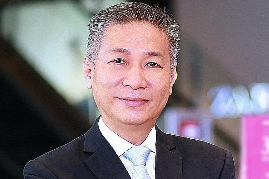 MR KELVIN CHOW, CEO of the manager of Lendlease Global Commercial Reit.