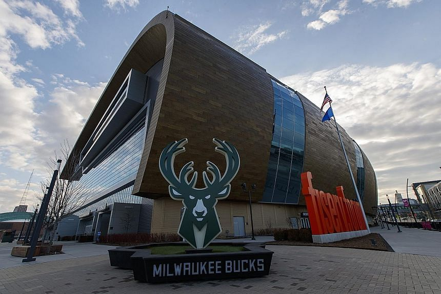 All NBA games are on hiatus till at least April 10 due to Covid-19, including the Bucks' home game last Thursday against the Boston Celtics.