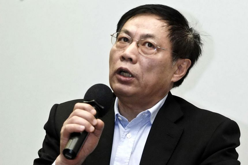 """Mr Ren Zhiqiang gained the nickname """"Cannon Ren"""" for his previous criticism posted on social media."""