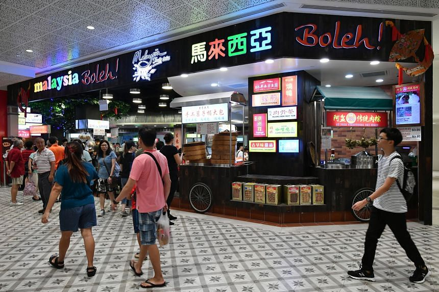 The Fei Siong Group, which runs the Malaysia Boleh! and Malaysia Chiak! foodcourts, has 50 employees who commute daily from Malaysia. Executive director Tan Kim Leng said the company is looking for accommodation for them.